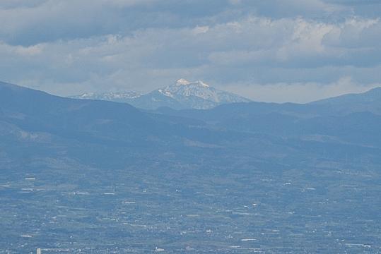 燧ケ岳が見えました。