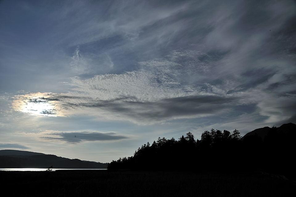 秋らしい空と雲