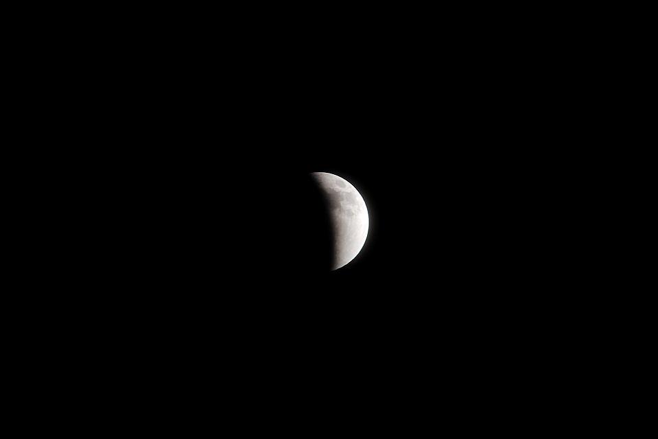 最後に撮れた月食 [22:30]
