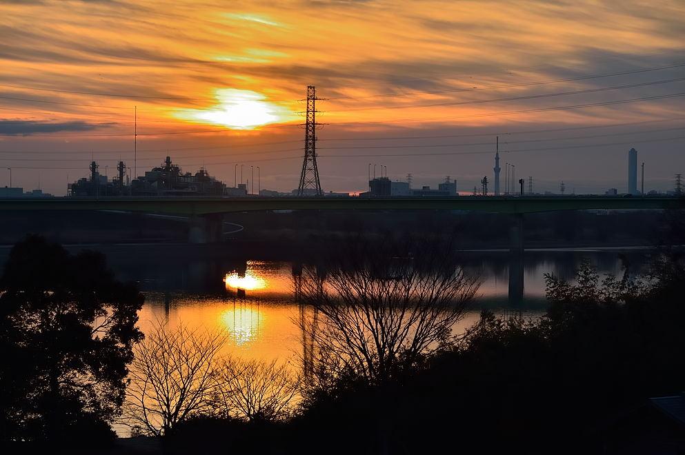 漸く太陽が出た 07:05:04