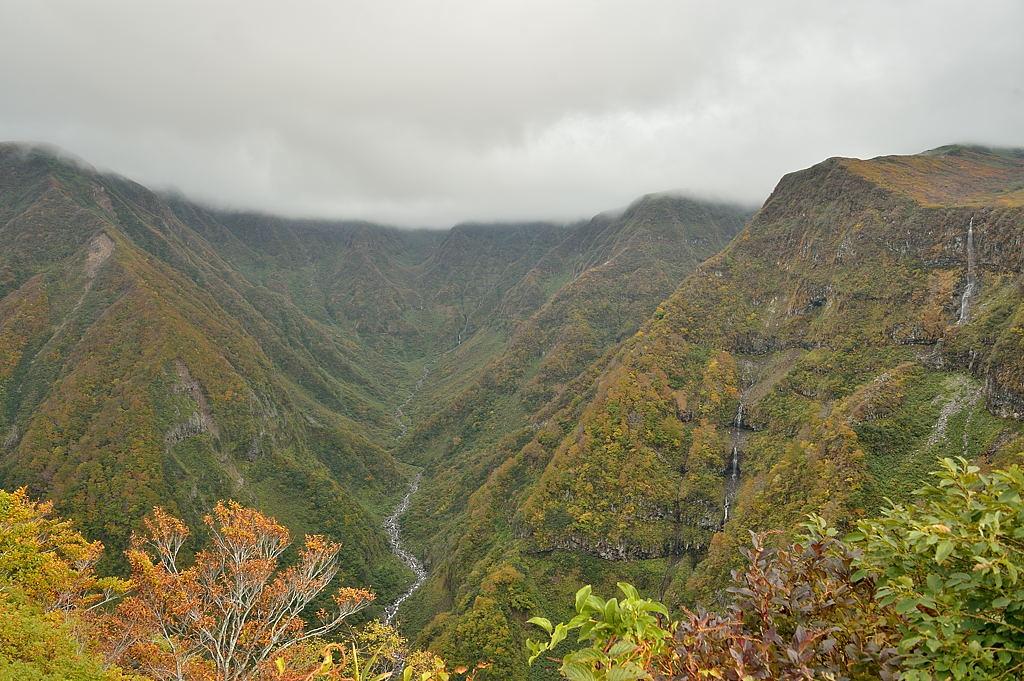 展望台からの奈曽渓谷