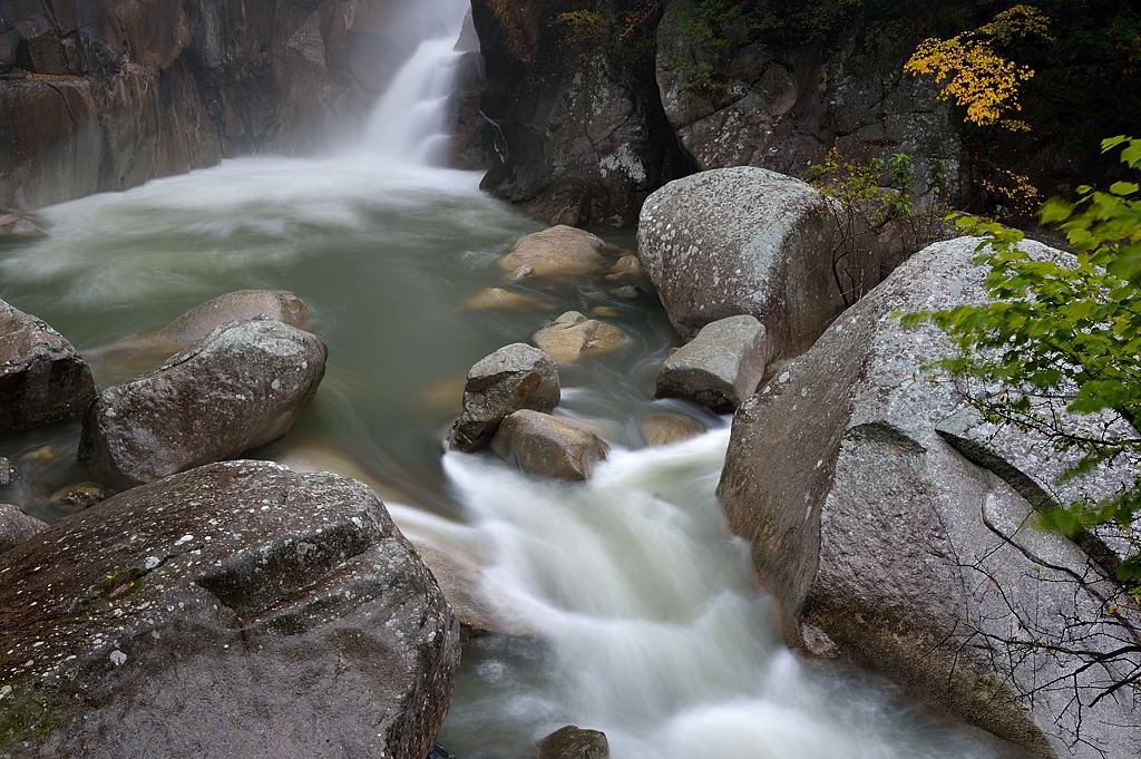 仙娥滝の滝壺