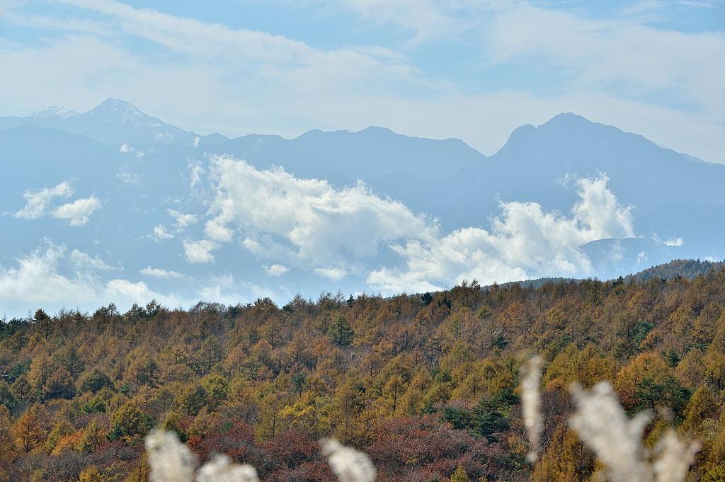 北岳、甲斐駒ケ岳