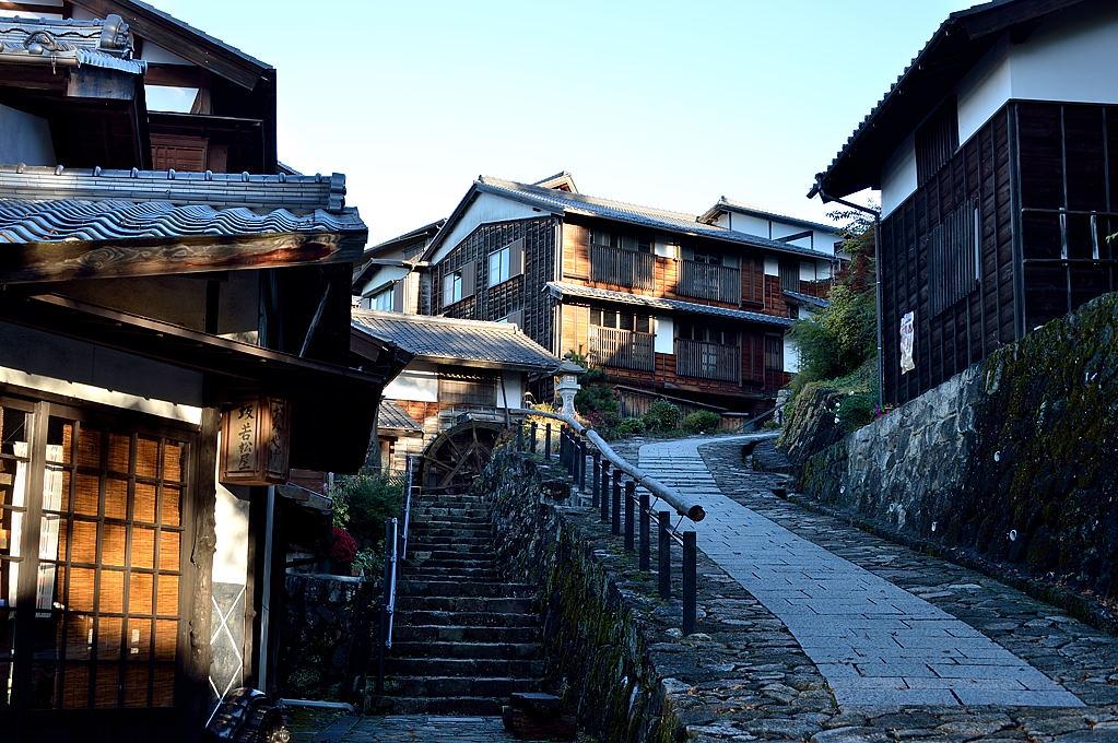 桝形の旧中山道