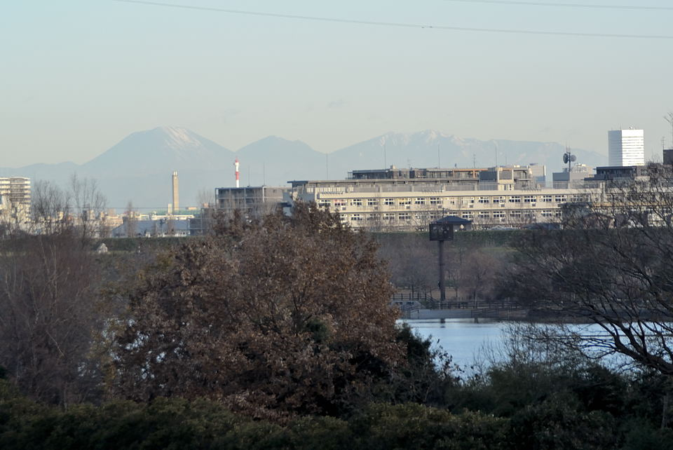 左から男体山、大真名子山、女峰山