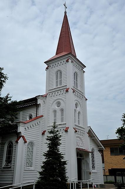 鶴岡のカトリック教会天主堂