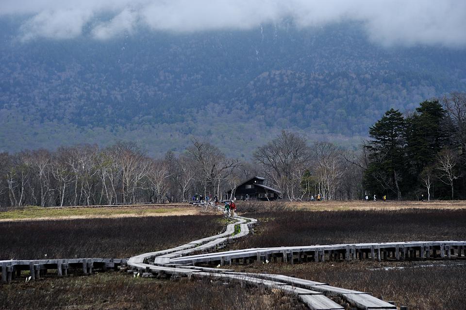 龍宮小屋への木道