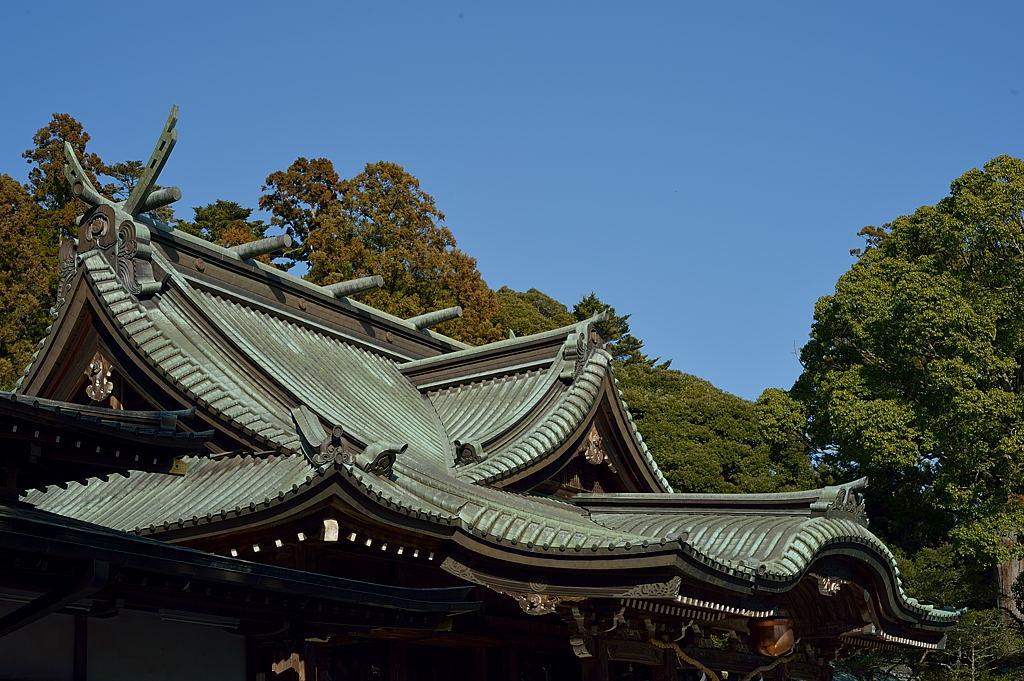 15:04 筑波山神社本殿
