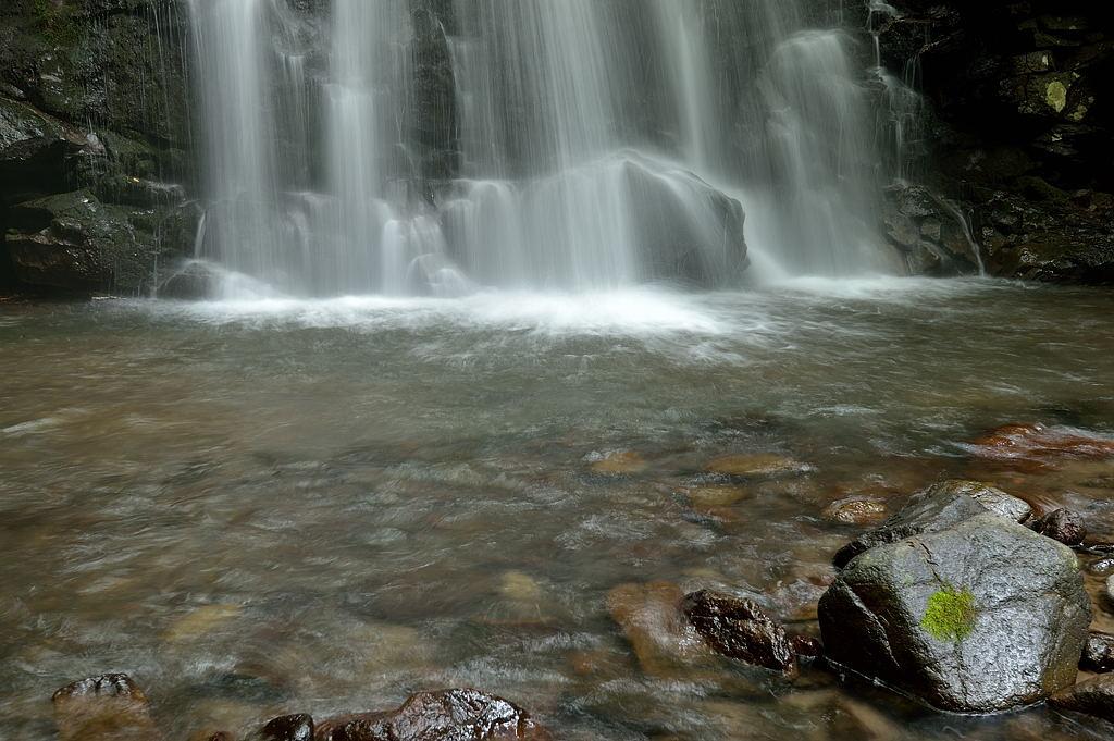 浅間大滝の滝壺