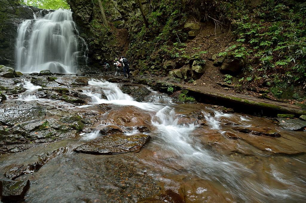 浅間大滝からの流れ