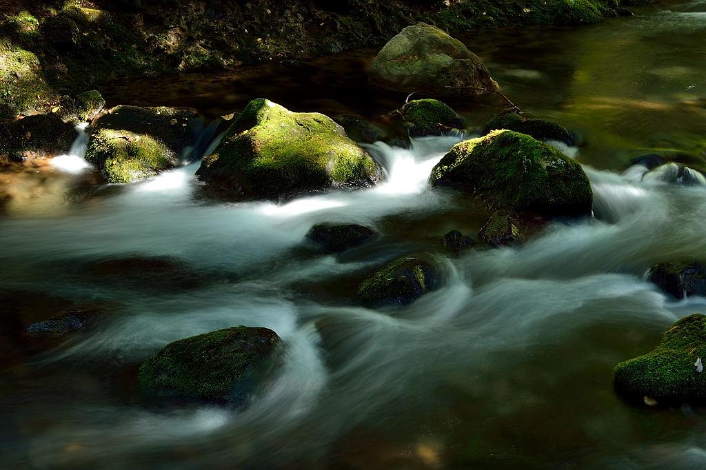元滝の渓流